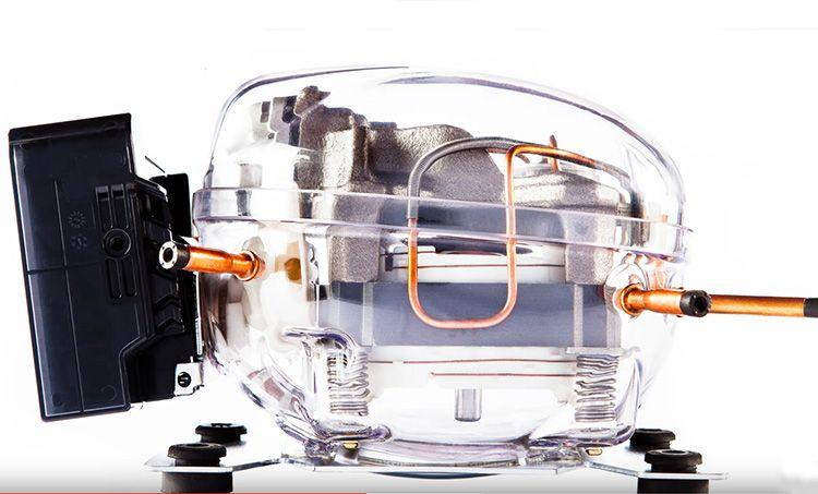 Такой вид крепления мотора на пружины считается самым надёжным