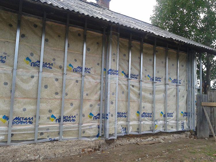 Выбор утеплитель делается с учётом материала стен