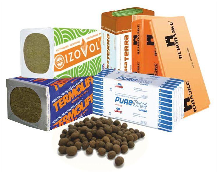 Теплоизоляционные материалы представлены в большом ассортименте