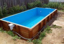 Сборно-каркасные бассейны: отдых и спасение от жары на даче