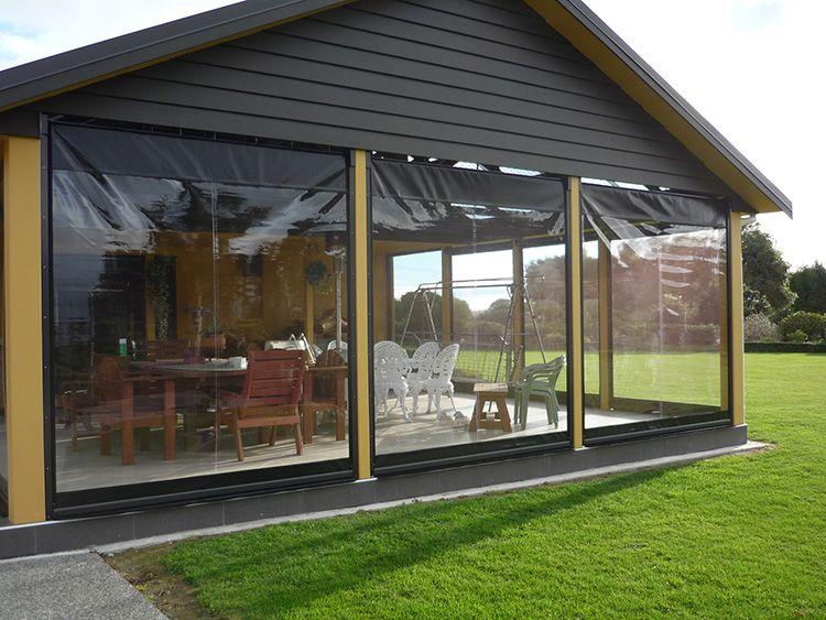 Гибкие окна можно свернуть как обычные рулонные шторы