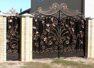 Мой дом – моя крепость! Какую роль в облике дома играют кованые ворота: фото лучших идей для загородных коттеджей и не только