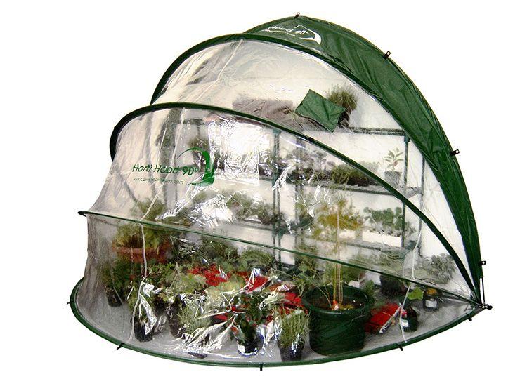 Ваша зелёная клумба будет радовать вас в любую погоду, а если пойдёт дождь, её можно просто укрыть