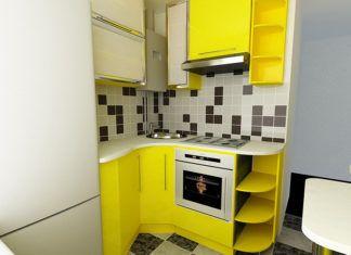 Дизайн маленькой кухни в «хрущёвке»: фото примеров и разбор типичных ошибок