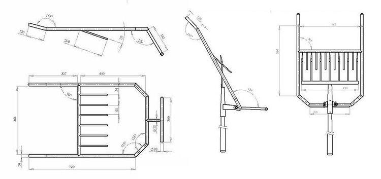 Народные умельцы выкладывают чертежи для самостоятельного изготовления инструмента с подробным описанием процесса