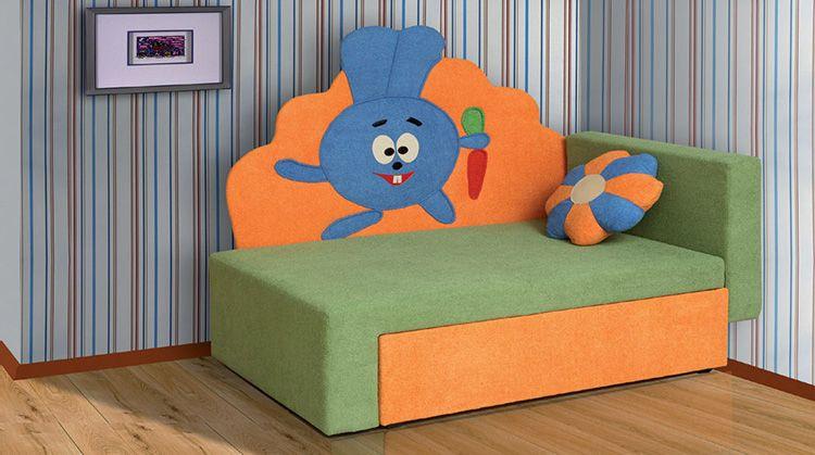 В детской мягкой мебели не должно быть жёстких и острых углов
