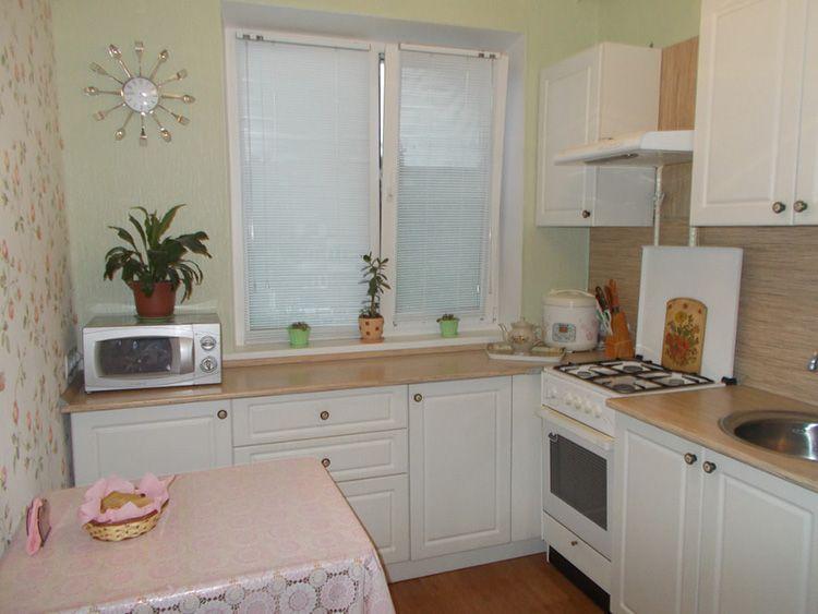 Дизайн кухни в «хрущёвке» 6 м².