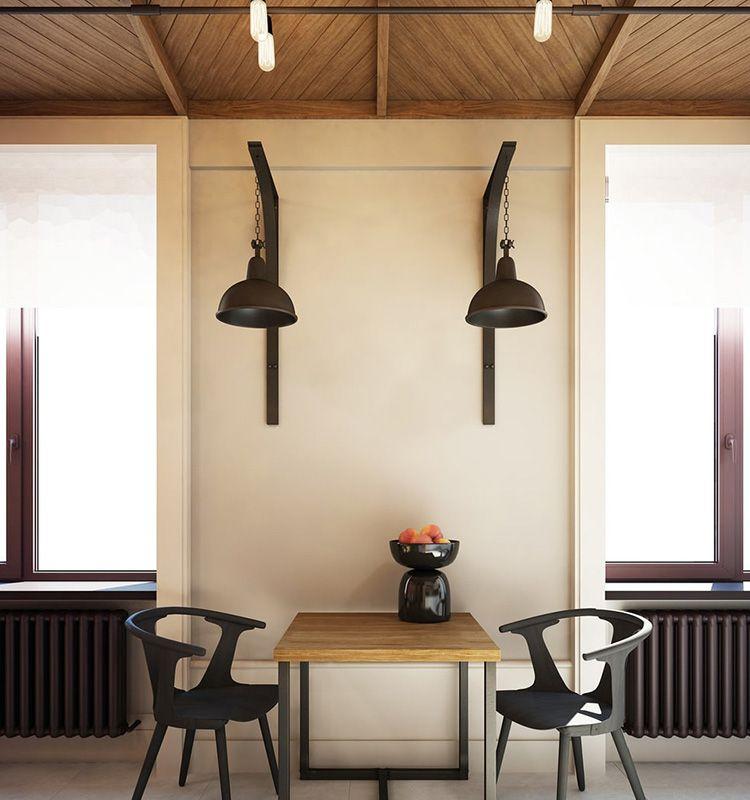 Настенные светильники в индустриальном стиле