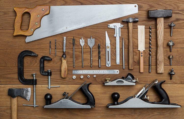 Минимальный набор инструмента столяра