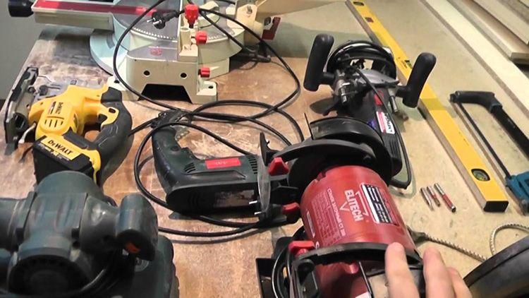 С электроинструментом можно сделать легко и быстро практически любой предмет мебели