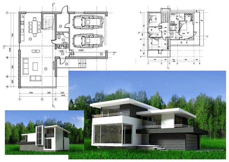 Готовые проекты домов в стиле хай-тек – хорошее решение