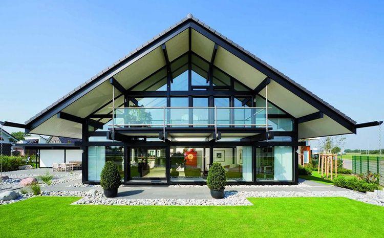 Дом из стекла – изящная конструкция для загородного участка