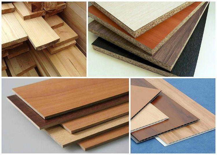 Для изготовления доборных элементов используются различные материалы