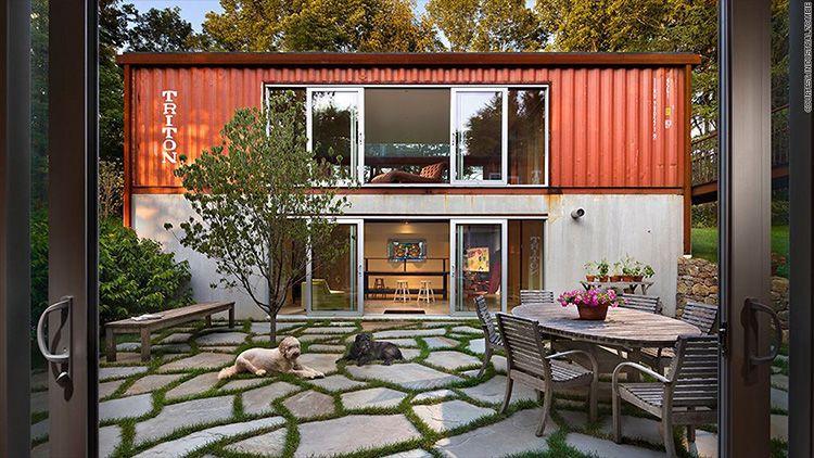 Дизайн-идея по созданию двухэтажного загородного дома