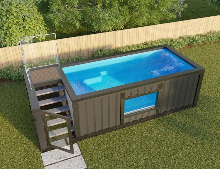Проект использования блок-контейнера для изготовления бассейна