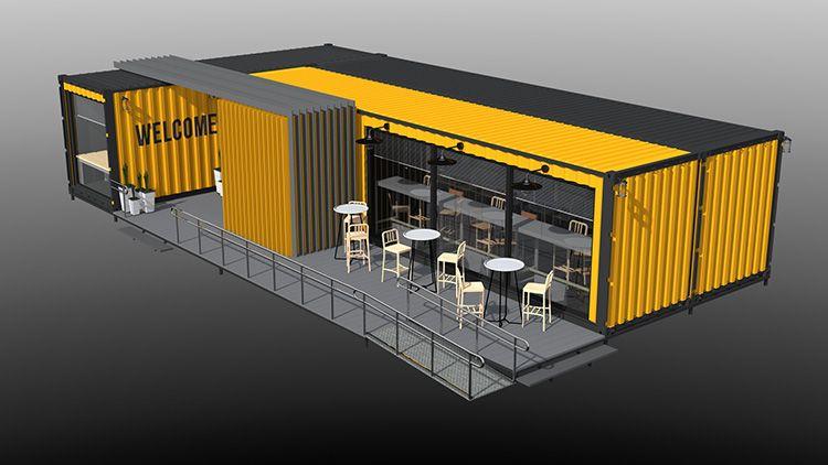 Проект кафе на 25 посетителей