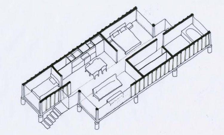 Наличие проекта планировки и рабочих чертежей позволит избежать ошибок при строительстве