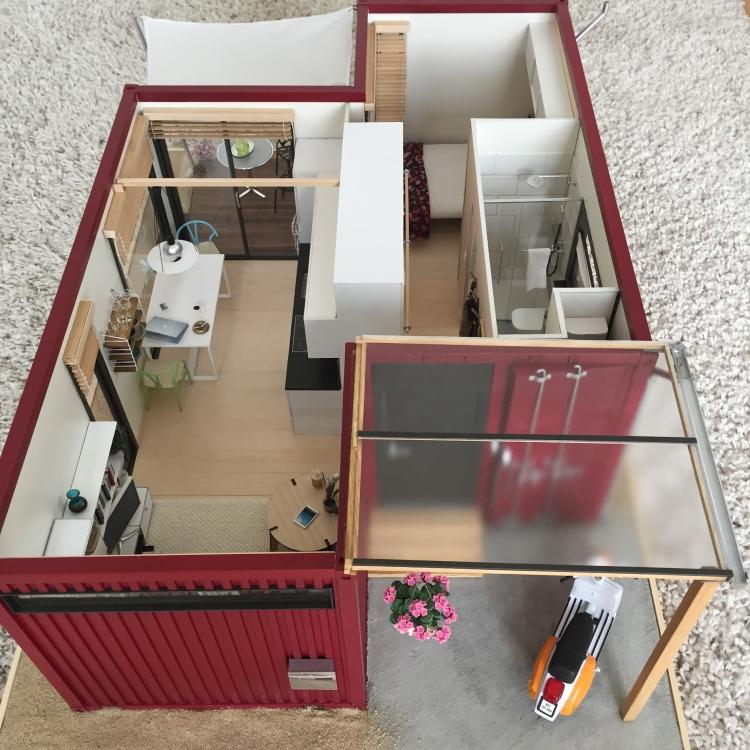 Проект двухэтажного жилого дома, реализованный в Канаде