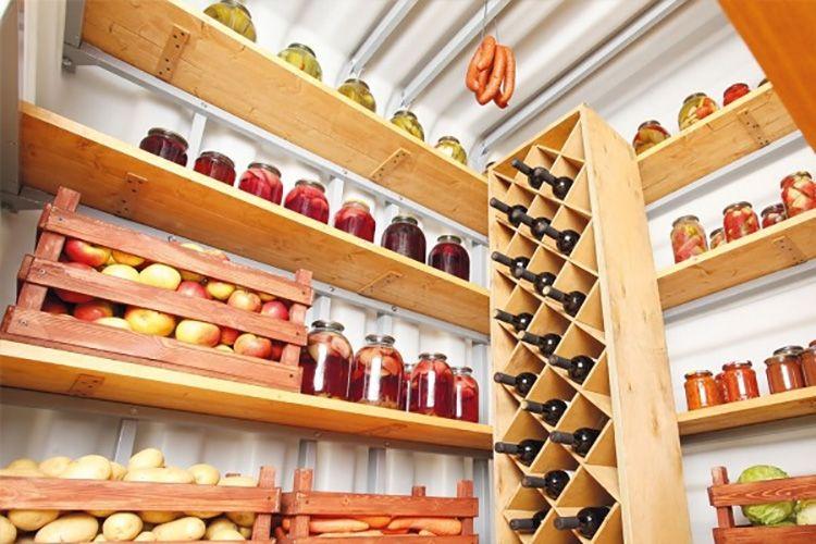 Полки, ящики и этажерка для вина, изготовленные из дерева