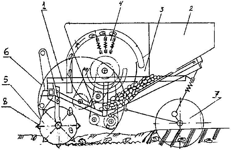 При разработке чертежа выбирается принцип работы устройства