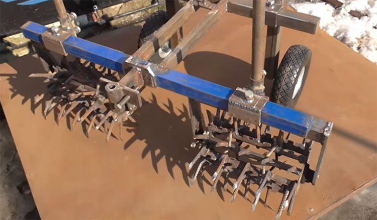Рыхлители для сажалки для картофеля можно изготовить своими руками из арматуры