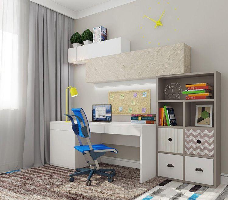 На радость внуку! Подбираем правильную мебель и антураж для детской комнаты мальчика