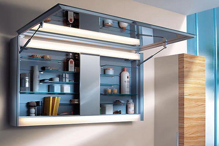 Выбираем навесной шкаф в ванную комнату: материал, конфигурация и ведущие производители