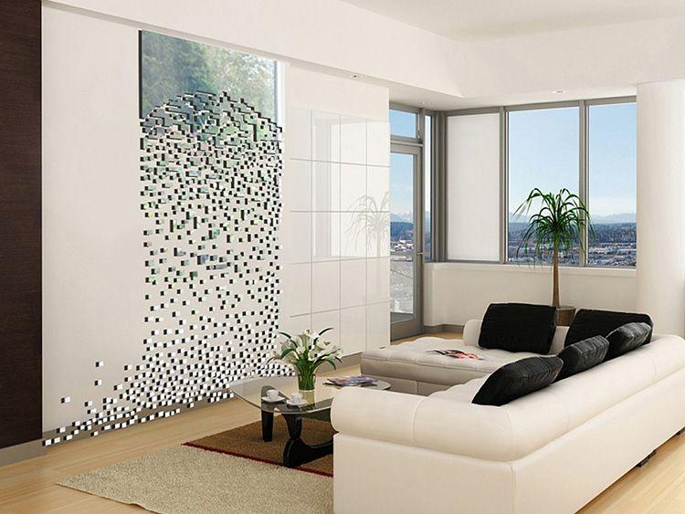 Изделия на основе полистирола, акрила или ПВХ теперь используются в интерьере наравне с натуральным деревом, металлом и стеклом