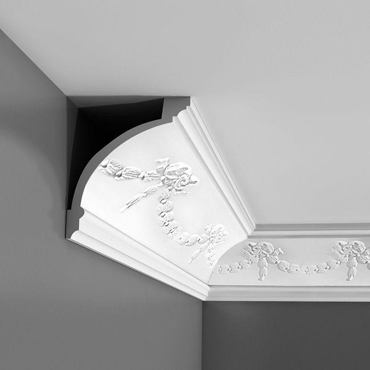 Потолочный плинтус – важный элемент декора