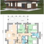 Задел на будущее: как выбрать идеальный проект одноэтажного дома с тремя спальнями