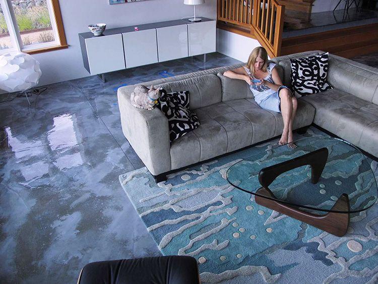 Для жилого помещения можно подобрать покрытие с подходящим рисунком