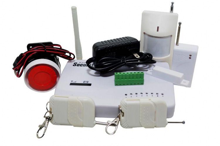 Стандартный набор оборудования бюджетного набора охранной сигнализации формата GSM