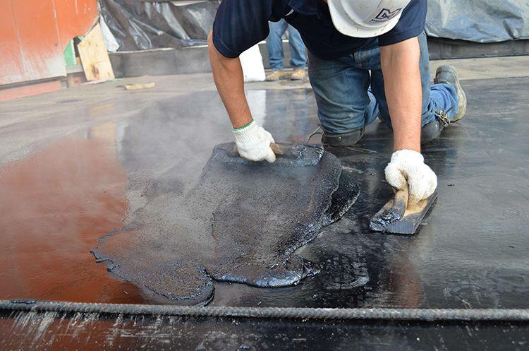 В принципе, мастичное покрытие не предназначено для защиты жилых помещений