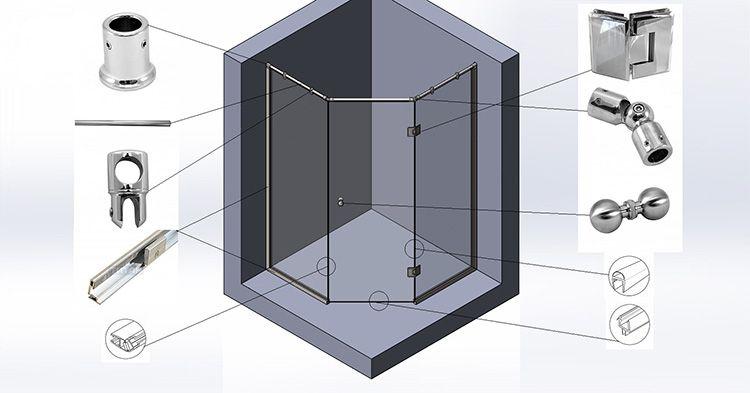 Выбор фурнитуры зависит от конструктивных особенностей системы