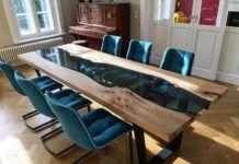 Стильная мебель в интерьере: почему стоит выбрать стол из эпоксидной смолы