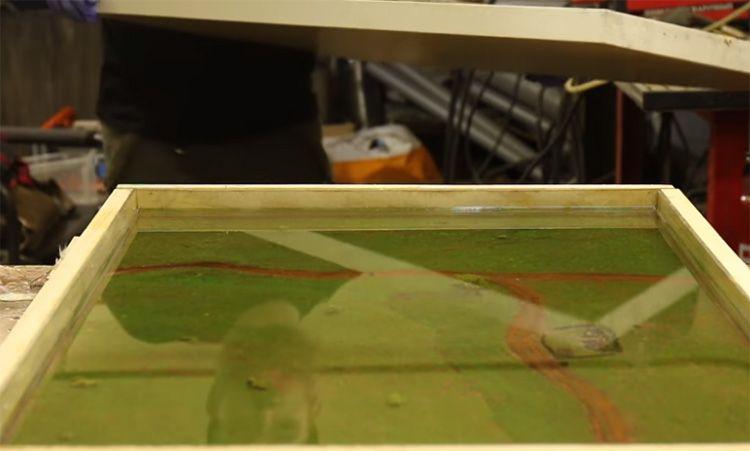 Крышка позволит предотвратить оседание пыли на поверхность