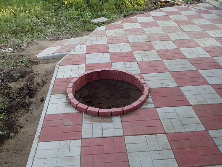 Чем хороша тротуарная плитка для дорожек на даче: изучаем цены и характеристики современных материалов