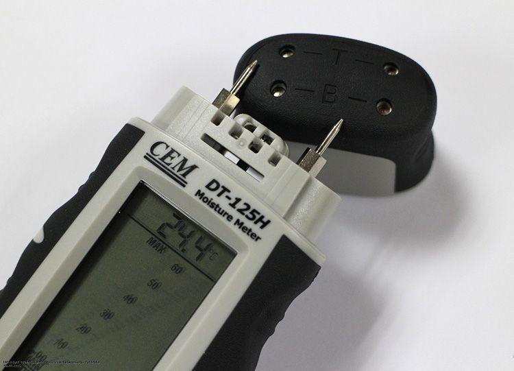 Влагомер CEM DT 125h – один из самых популярных для бытовых нужд