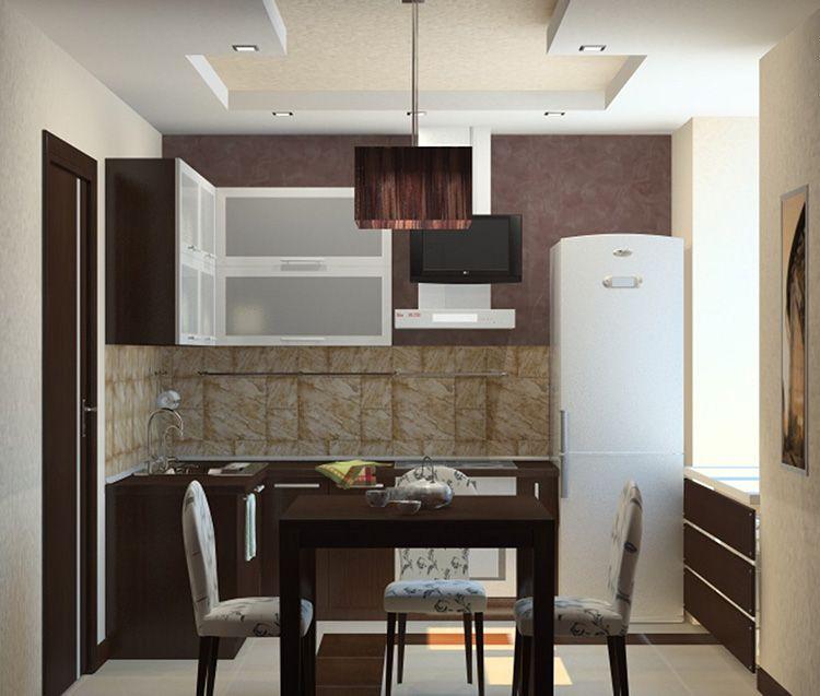 Фото дизайна маленькой кухни в квартире
