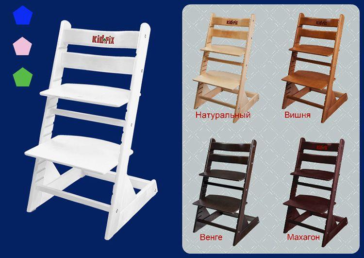 Такие стулья пользуются спросом у родителей маленьких школьников