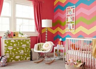 Апартаменты маленькой принцессы: выбираем обои для детской комнаты девочки (фото в интерьере)