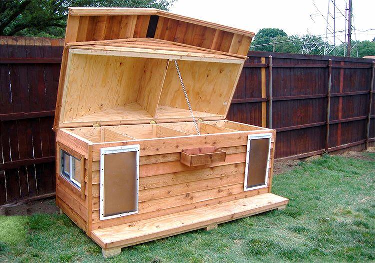 Каркасная конструкция будет отлично сохранять тепло холодными зимними ночами