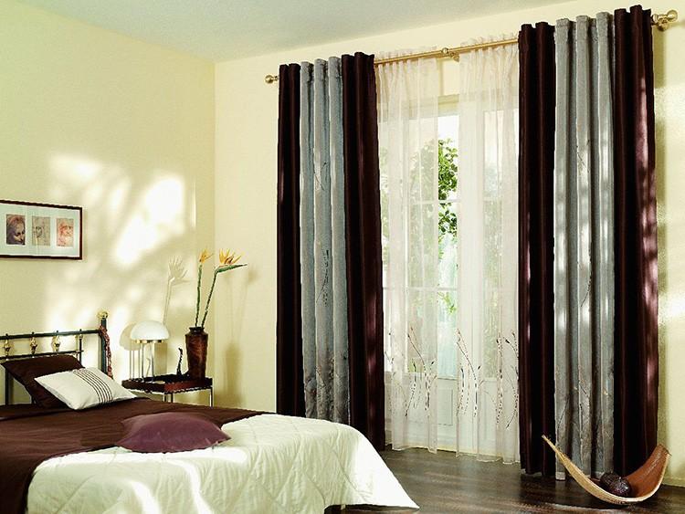 Люверсы помогают собирать шторы красивыми складками