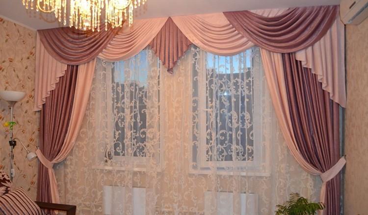 Ламбрекены – красивая оправа для окна