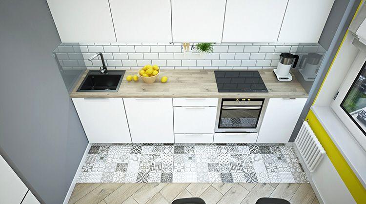 Фото дизайна маленькой кухни после ремонта