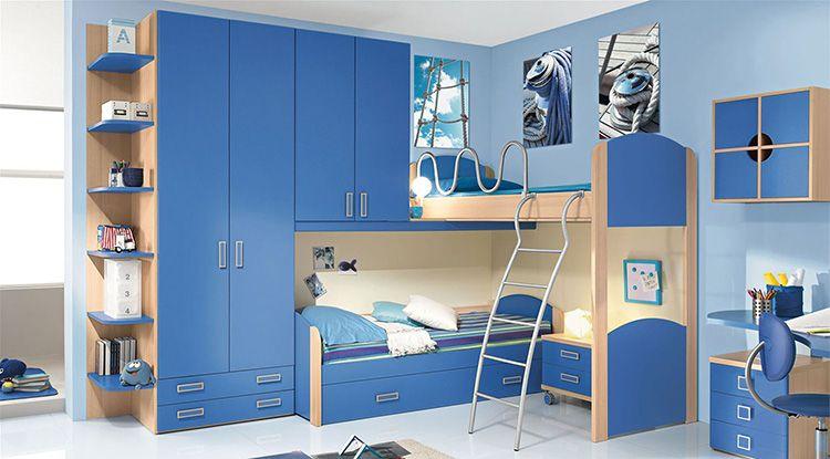 Голубой цвет действует на детей успокаивающе