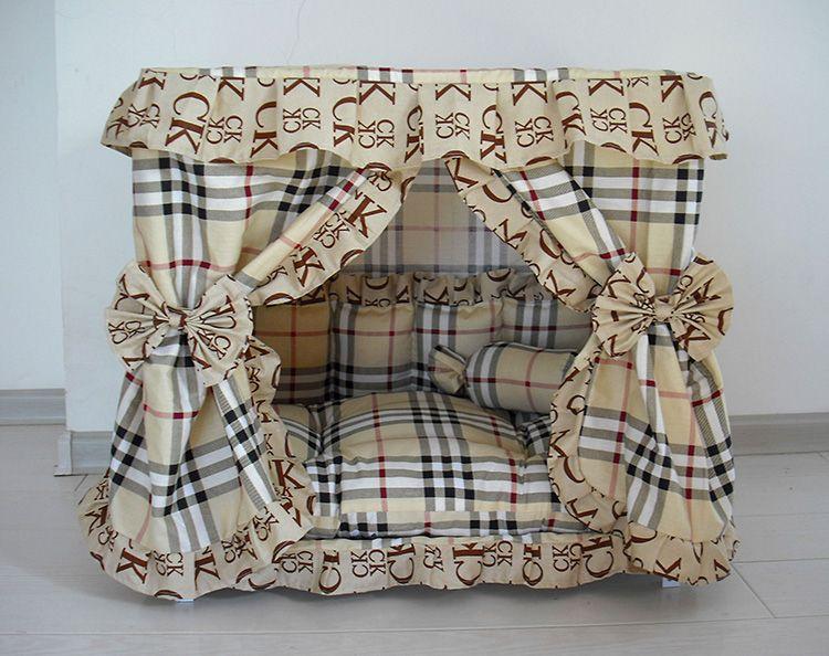 Изготовление такой будки совсем несложно, даже если нет особых навыков в шитье