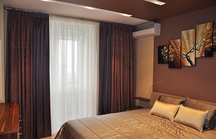 🚩 Выбираем красивые шторы в спальню: фото современных идей 2018-2019 года