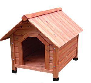 Деревянная будка для собак Triol