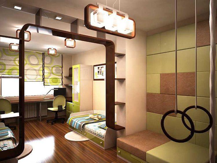 Ламинатные полы – оптимальный вариант для комнаты детей